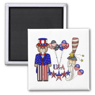 USA Celebration Magnet