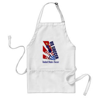 USA Chest control soccer fans soccer art gifts Adult Apron