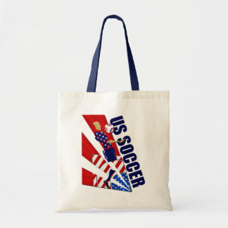 USA Chest control soccer fans soccer art gifts Tote Bag