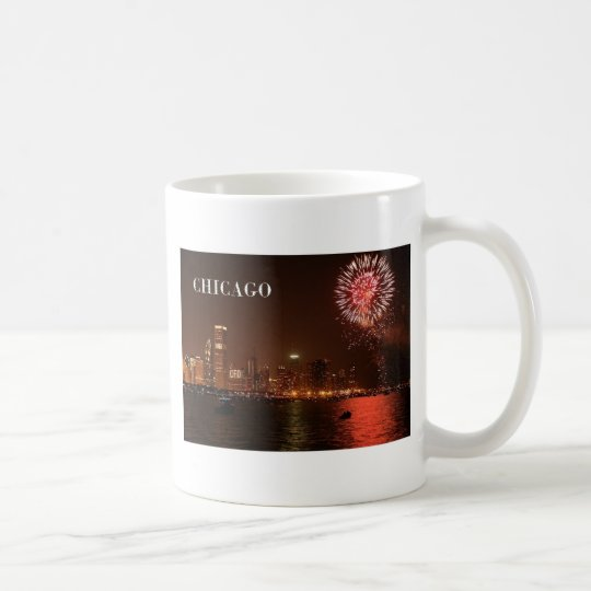 USA Chicago Fireworks (new) (St.K) Coffee Mug