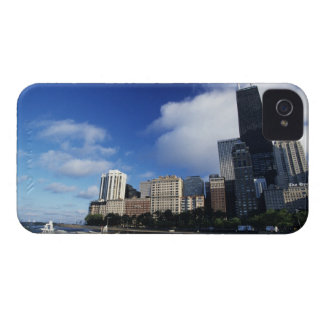 USA, Chicago, Illinois, Oak Street Beach and iPhone 4 Case-Mate Case