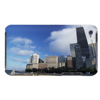 USA, Chicago, Illinois, Oak Street Beach and iPod Touch Cover