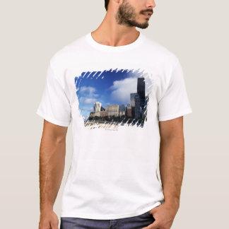 USA, Chicago, Illinois, Oak Street Beach and T-Shirt