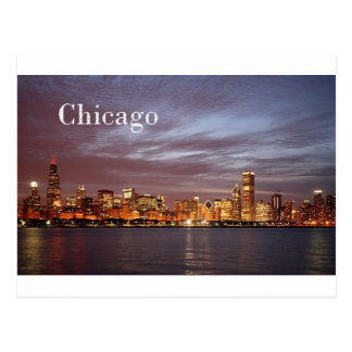 USA Chicago St K Post Card