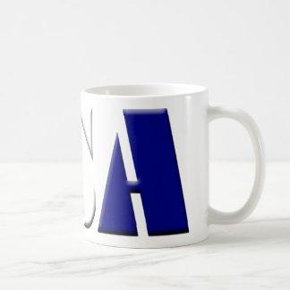 USA CLASSIC WHITE COFFEE MUG