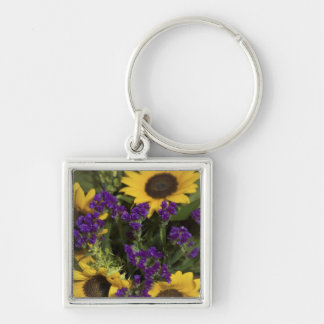 USA, close-up of bridal flower arrangement, Keychain