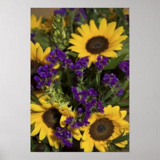 USA, close-up of bridal flower arrangement, Poster