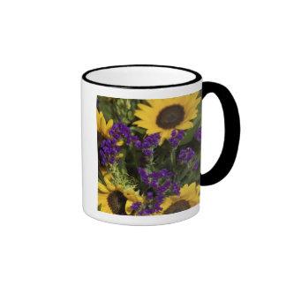 USA, close-up of bridal flower arrangement, Ringer Mug