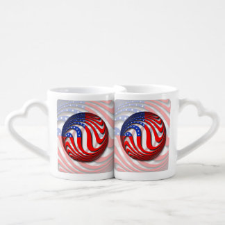 USA COFFEE MUG SET