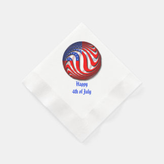 USA COINED COCKTAIL NAPKIN