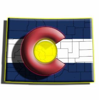 USA: Colorado (3d) Statuette