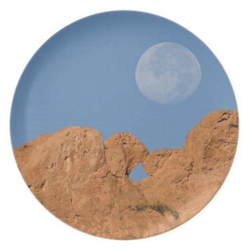 USA, Colorado, Colorado Springs, Garden of the 2 Melamine Plate