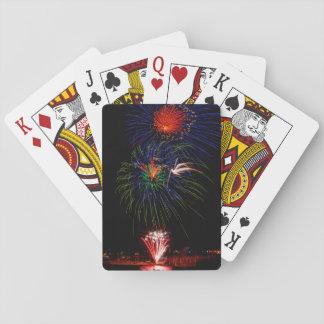 USA, Colorado, Frisco, Dillon Reservoir Playing Cards
