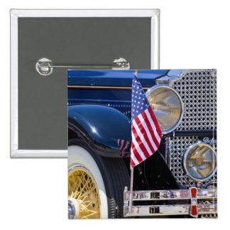 USA, Colorado, Frisco. Vintage Packard auto 2 Inch Square Button