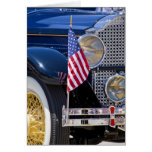 USA, Colorado, Frisco. Vintage Packard auto Greeting Card