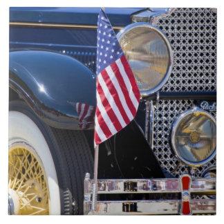 USA, Colorado, Frisco. Vintage Packard auto Ceramic Tile