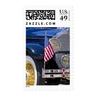 USA, Colorado, Frisco. Vintage Packard auto Stamp
