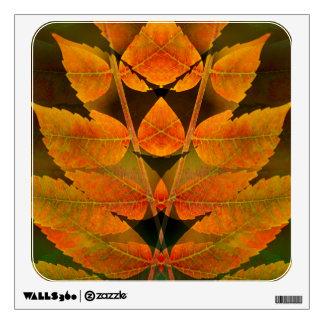 USA, Colorado, Lafayette. Autumn sumac montage Wall Sticker