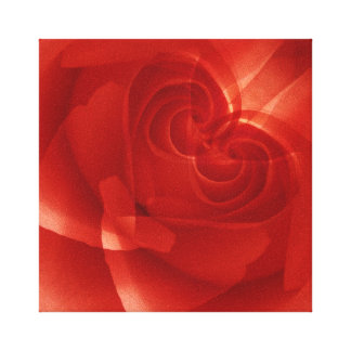 USA, Colorado, Lafayette. Red rose montage Canvas Print