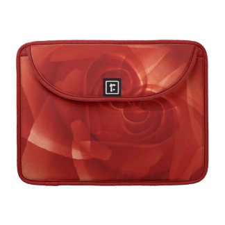 USA, Colorado, Lafayette. Red rose montage MacBook Pro Sleeve