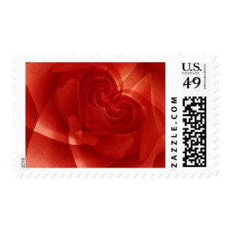 USA, Colorado, Lafayette. Red rose montage Postage