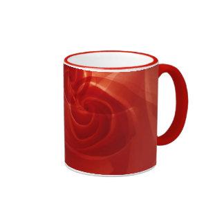 USA, Colorado, Lafayette. Red rose montage Ringer Mug