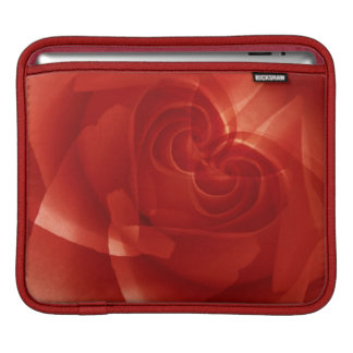 USA, Colorado, Lafayette. Red rose montage Sleeve For iPads