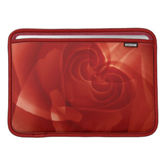 USA, Colorado, Lafayette. Red rose montage Sleeve For MacBook Air