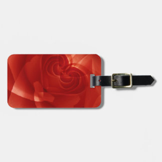 USA, Colorado, Lafayette. Red rose montage Tag For Luggage