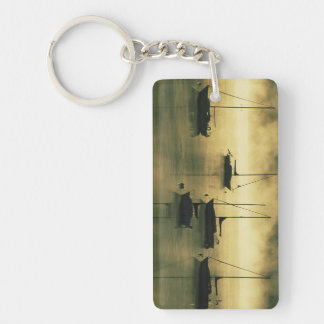 USA, Colorado, Lake Dillon.  The early morning Keychain