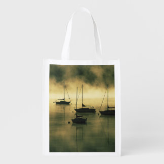 USA, Colorado, Lake Dillon.  The early morning Reusable Grocery Bag