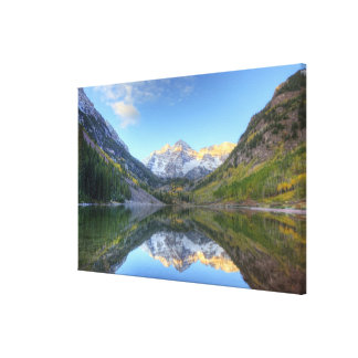 USA, Colorado, Maroon Bells-Snowmass Canvas Print