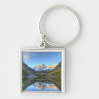 USA, Colorado, Maroon Bells-Snowmass Keychain
