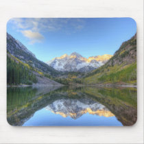 USA, Colorado, Maroon Bells-Snowmass Mouse Pad