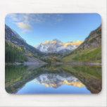 USA, Colorado, Maroon Bells-Snowmass Mouse Pads
