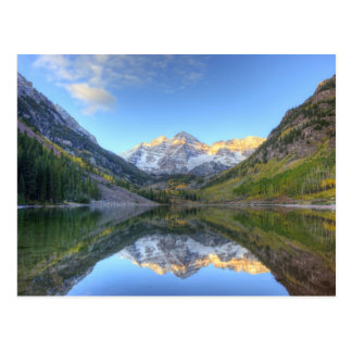 USA, Colorado, Maroon Bells-Snowmass Postcard