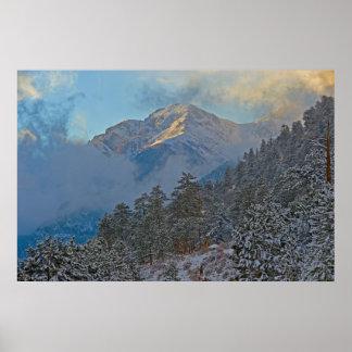 USA, Colorado, Mountains In Estes Park Poster