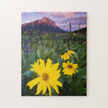 USA, Colorado, Mt. Crested Butte Jigsaw Puzzle