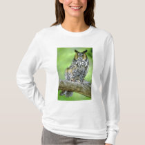 USA, Colorado. Portrait of long-eared owl T-Shirt