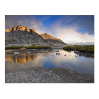 USA, Colorado, Rocky Mountain NP. Postcard