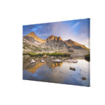 USA, Colorado, Rocky Mountain NP.  Storm clouds Canvas Print