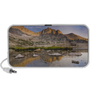USA, Colorado, Rocky Mountain NP.  Storm clouds Portable Speakers