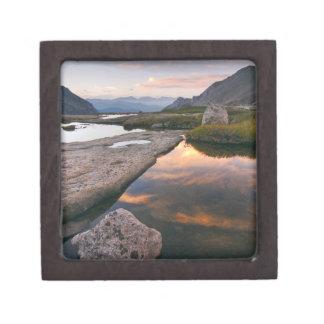 USA, Colorado, Rocky Mountain NP.  Sunrise in Keepsake Box