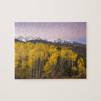 USA, Colorado, Rocky Mountains.  Dawn in the San Jigsaw Puzzle