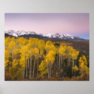 USA, Colorado, Rocky Mountains.  Dawn in the San Poster