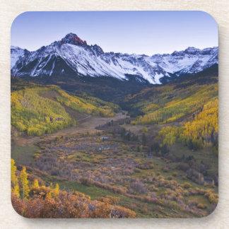 USA, Colorado, Rocky Mountains, San Juan Beverage Coaster
