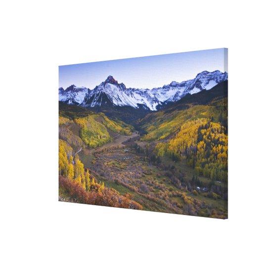 USA, Colorado, Rocky Mountains, San Juan Canvas Print