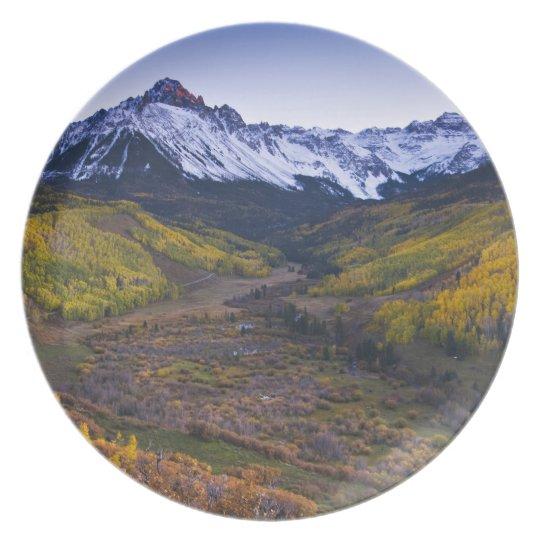 USA, Colorado, Rocky Mountains, San Juan Dinner Plate