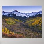 USA, Colorado, Rocky Mountains, San Juan Poster