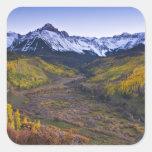 USA, Colorado, Rocky Mountains, San Juan Square Sticker